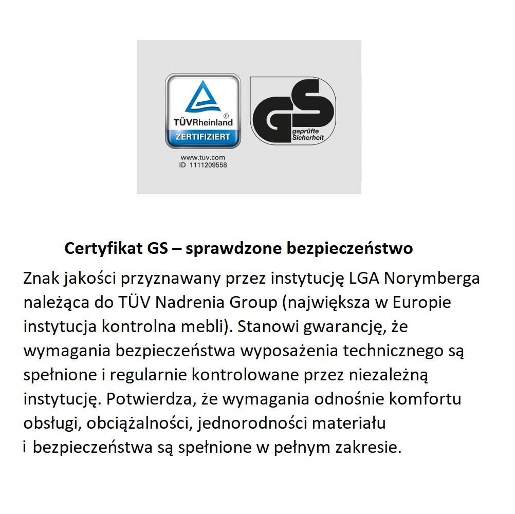 Certyfikat GS Nobilia